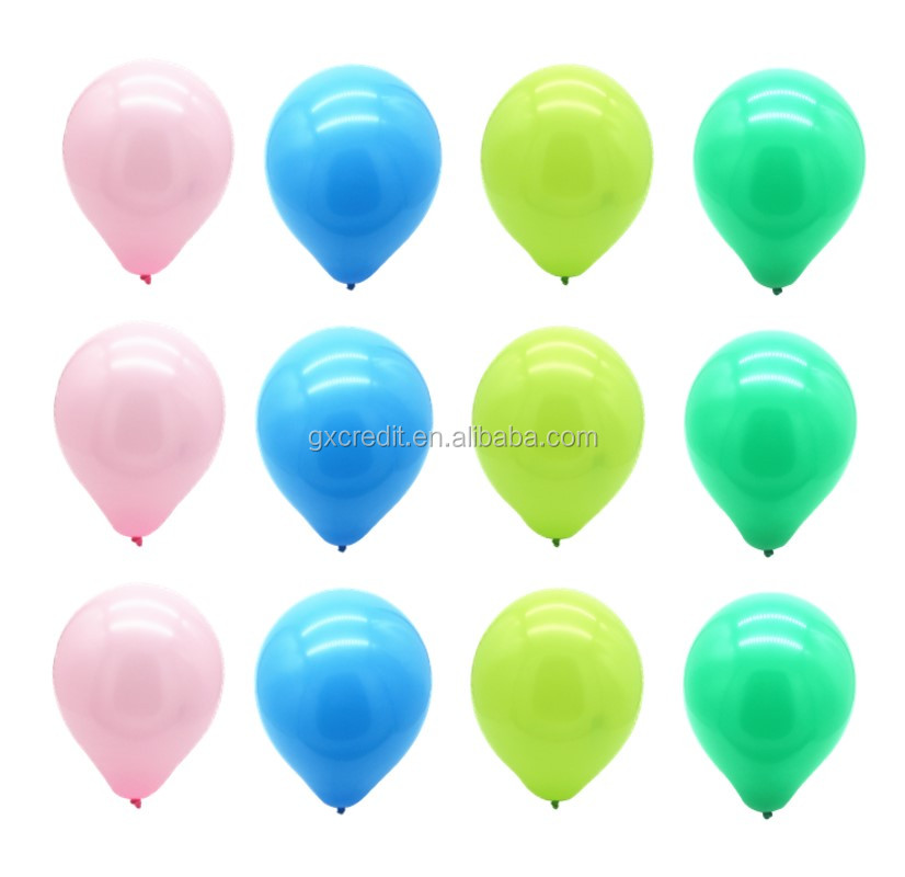 low price mimi inflatable helium latex round balloon with assorted colors