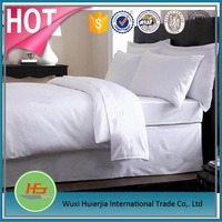 Alibaba Gold Supplier cheap white cotton twin flat bed sheets set