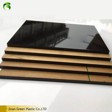 2016 Low Price Laser Engraving Black Acrylic Sheet/Board
