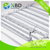 double-sided illumination 12Volts 5050 SMD cree led light bar/matrix curtain Led rigid strip advertising/sign backlight