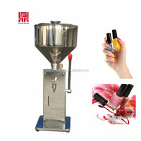 bottle filler plant supply nail polish filling machine with small fillers