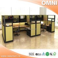 open office workstation for 8 , 4 people office workstation moeden