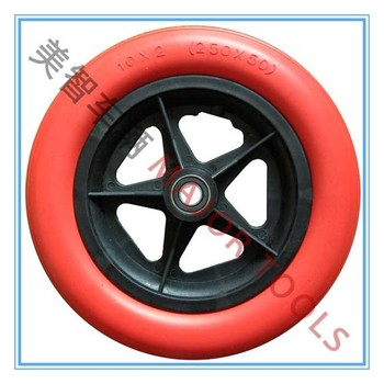 "10"" children bicycle pu foam rubber wheel 250x50"