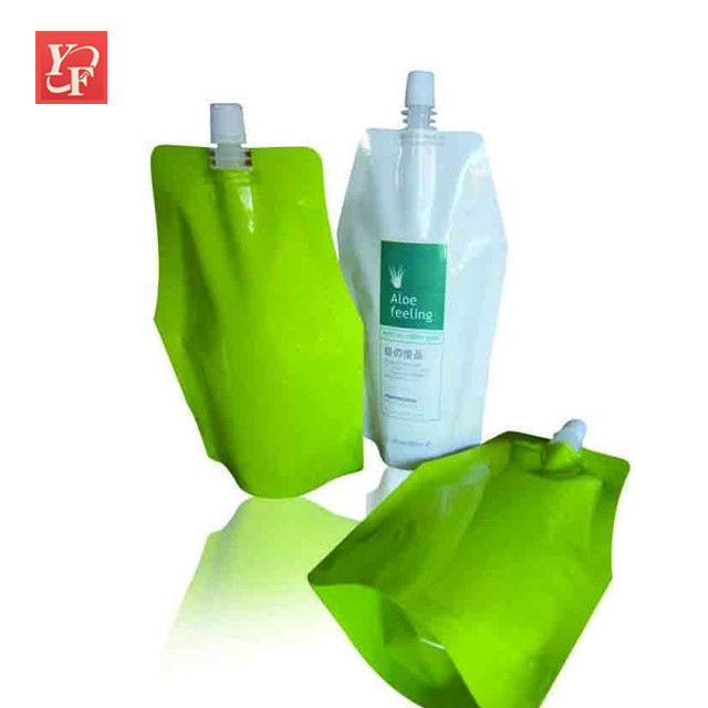 Best selling products biodegradable retort small spout packaging of juice
