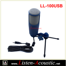 LL-100USB Unidirectional Electret Audio Condenser USB Microphone