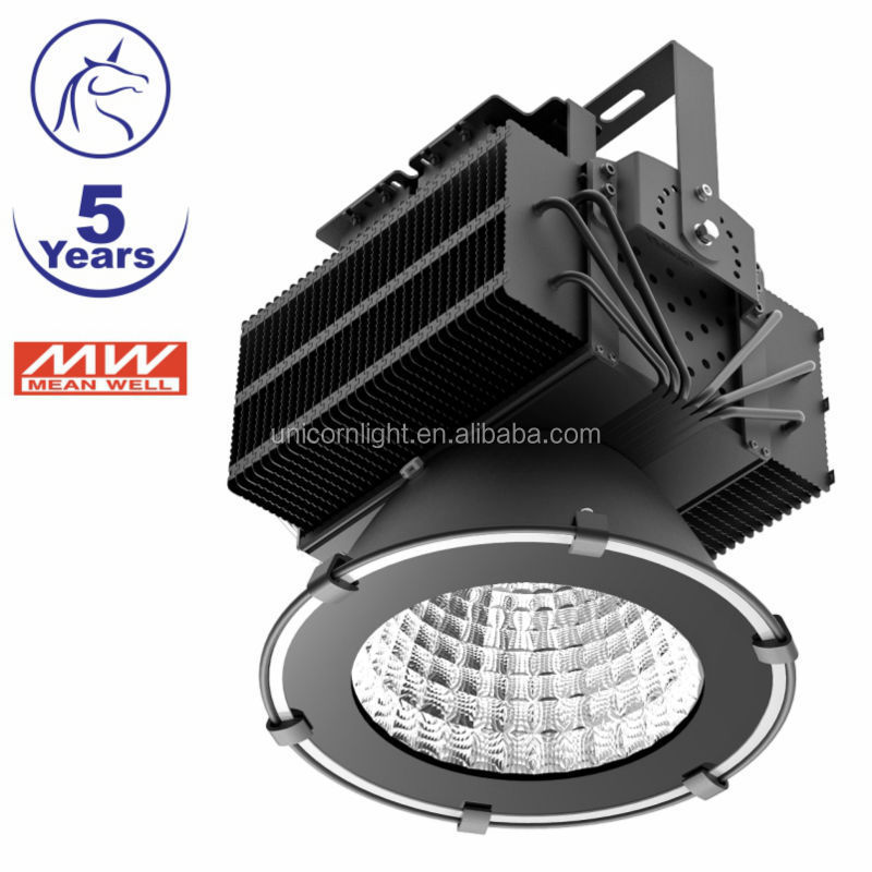 High quality 5 Years warranty spot led lights 100W 120W 150W 200W 300W 400W 500W IP65 stadium LED high bay light