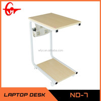 2014 Modern product computer table design commercial furniture laptop bed desk ND-7