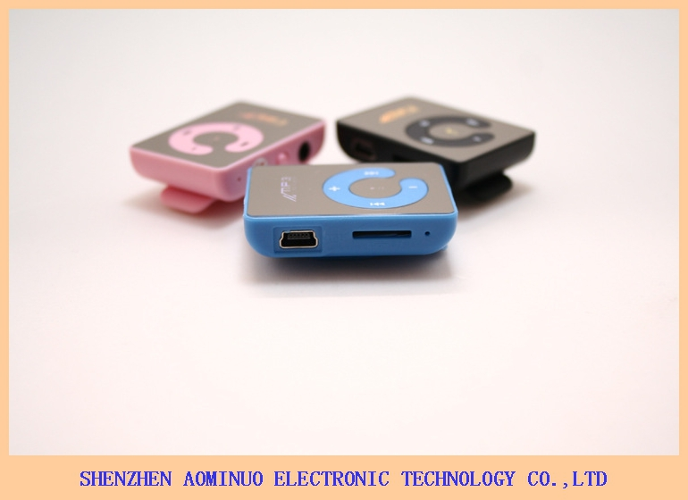 Top selling Clip sport MP3 ,mini clip mp3 player manual Mirror MP3 player