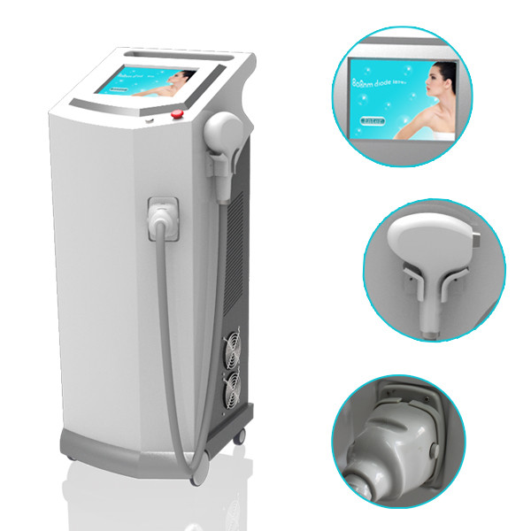 Professional 600W 10 bars powerful Permanent 808nm Diode Laser Back Hair Removal For Men