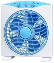 Quality promised strong wind high speed good look box fan wholesale with cheap price