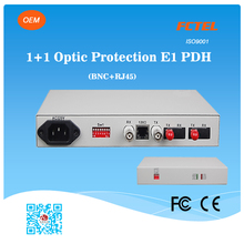 China Wholesale Long Range TX RX 1+1 Optical Protection E1 Fiber Modem