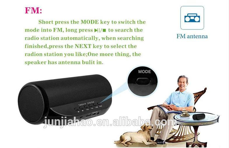 CSR4.0 FM Radio and NFC TF Card Portable Music Mini Bluetooth Speaker with Hands Free Calling