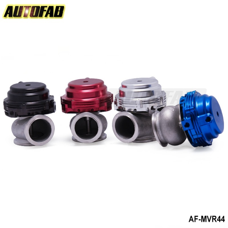 AUTOFAB-MVR 44mm V Band <strong>External</strong> <strong>Wastegate</strong> Kit 24PSI Turbo <strong>Wastegate</strong> with V Band Flange High Quality default color RED AF-MVR44