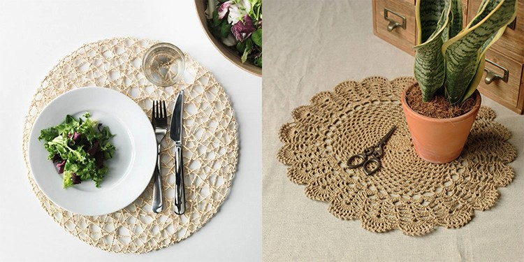 Eco-Friendly Solid Round Paper Placemat