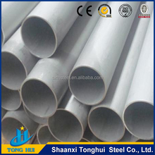 ex-stock 304L stainless steel pipe weight top quality