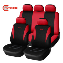 Logos Parts Bench Elastic Linen Custom Made Auto Famous Heat Resistant Taxi Truck Driver Temporary Seat Covers