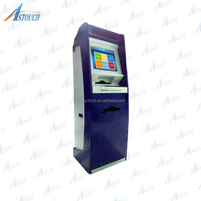 All-in-one Foreign Currency Exchange Machine / Coin Dispenser Bill Payment Kiosk