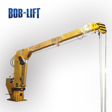 Hydraulic Telescopic Boom Pedestal Marine Loading Arm Crane for Boat