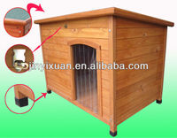 Precision cute large fancy dog kennels outdoor pet cage wooden dog house for sale