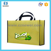 Hot sale promotional non woven tote wine bottles musical gift bag