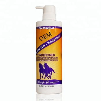 brand name 750 ml mane shampoo with horse oil for damaged hair