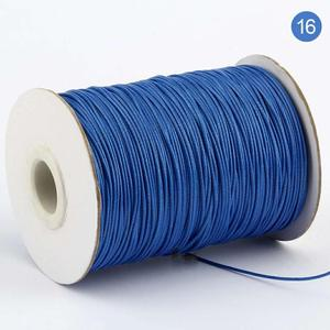 Colorful Polyester Silk Cord Waxed Rope for DIY Jewelry Making