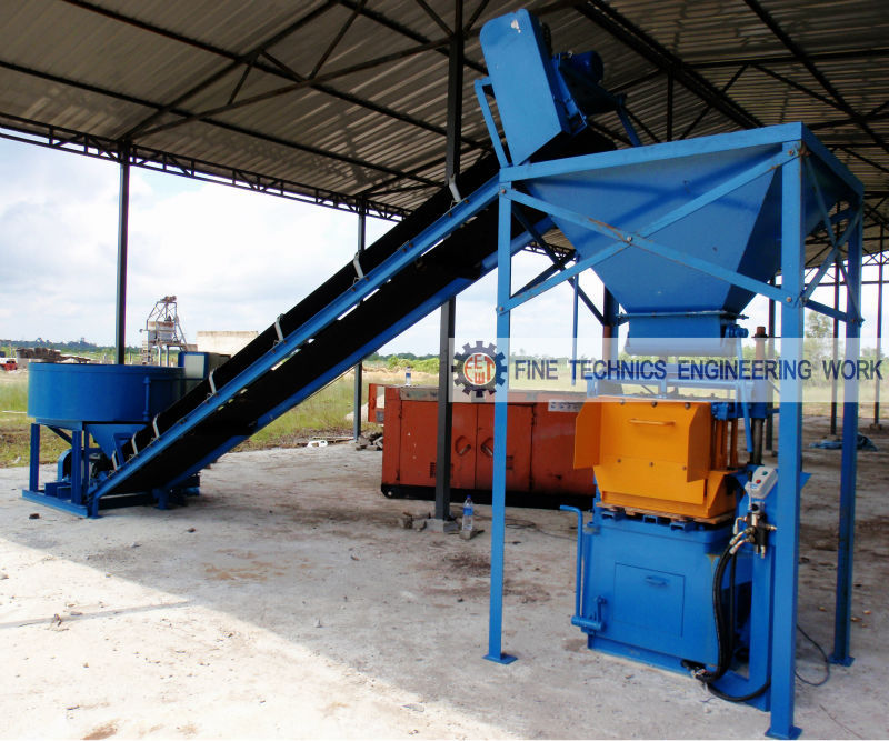 Concrete Block Making Machine (FT 18)