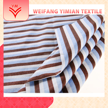Fast Delivery 100% Cotton Cambric Stripe Printed Fabric