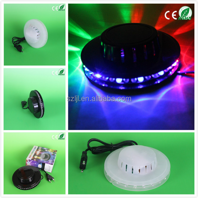 sound-activated litter sun led rotating disco laser 8w sunflower stage light