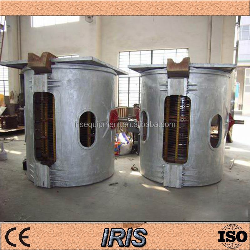 industrial induction furnace aluminum ingot melt furnace manufacturer