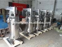 Tubular liquid liquid solid separation centrifuge GF105-J
