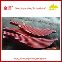 China truck heavy vehicle auto parts leaf spring assembly sup9 60si2mn