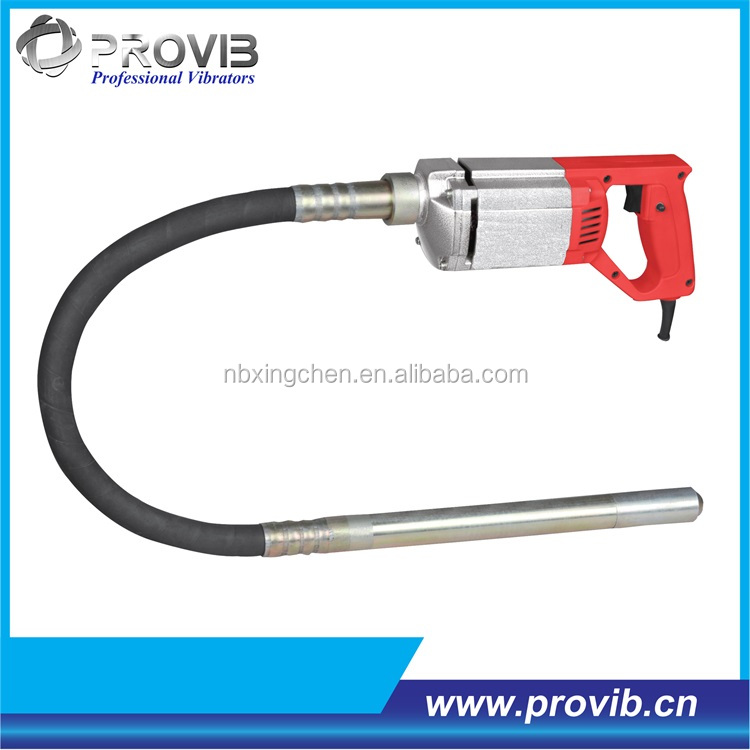 PV35 Aluminum enclosed electric portable concrete vibrator with CE certificate
