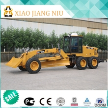 New condition road construction machine mini motor grader with moldboard and rear ripper for sale with famous brand engine