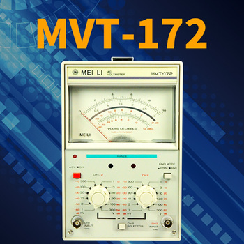 Most Accurate Dual neegles LED display MVT-172 millivoltmeter for iphones test