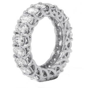 2019 Popular 925 Silver Eternity Ring for girlfriend