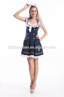 instyles walson Adult Nautical Doll sailor Marine Costume