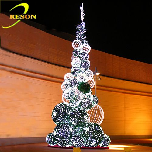 hot new products for 2014 led lights tree outdoor christmas train decoration