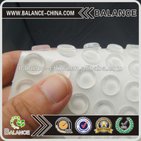 silicone furniture pad self adhesive protector feet bumpers