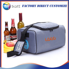 Outdoor waterproof polyester soft picnic wine thermostat cooler lunch bag