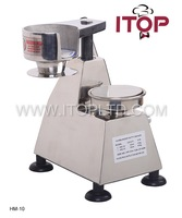 manual stainless steel commercial hamburger patty press machine