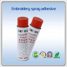 2014 hot selling DYQWJ 777 spray glue <strong>adhesive</strong> for best stabilizer for embroidery