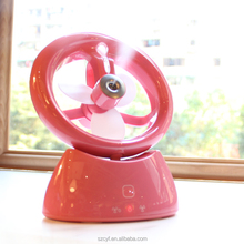 New Folding usb electric battery portable misting mini fan