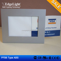 Edgelight PF6 standard A4 size advertising led display , cheap price picture frame led light box