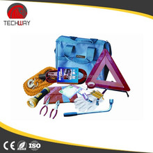 profressional and promotional car emergency kit for roadside in bag