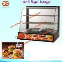 Low Price Hot Food Display Case Price|Fried Chicken Food Display Warmers