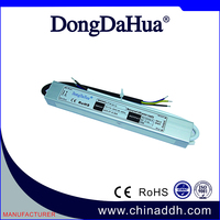 25W 12V 2.08A IP67 Waterproof led driver with CE certificate