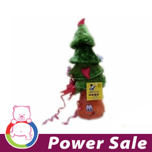 ICTI and Sedex audit EN71 Christmas reindeer plush toy tree for promotional wholesales