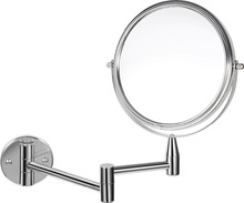 Professional bathroom hotel two sides mirrors for make up with led lighted wall mirror design