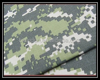 Camouflage printed Fabric for military T/C65/35 20X16 128X60